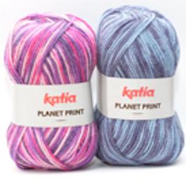 Katia Planet Print