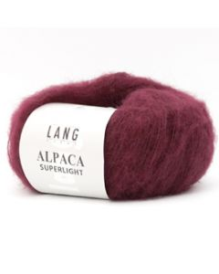 Lang Yarns Alpaca Superlight (64) Bordeaux bij de Breiboerderij