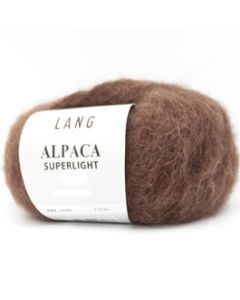 Lang Yarns Alpaca Superlight Donkerbruin (68)