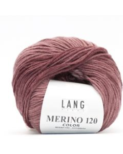 Lang Yarns Merino 120 Color Oudroze (48)