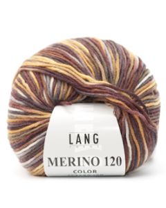 Lang Yarns Merino 120 Color Triple Bruin (68)