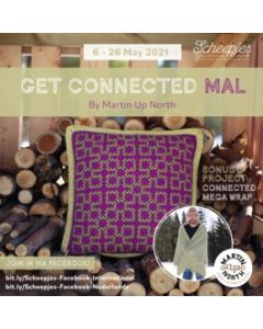 Get Connected MAL by Martin UpNorth - met Scheepjes Riverwashed