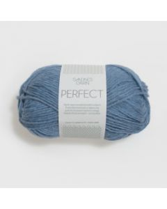 Sandnes Garn Perfect Superwash (6324) Blauw gemeleerd