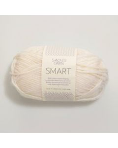 Sandnes Garn Smart Superwash (1001) Off White bij de Breiboerderij