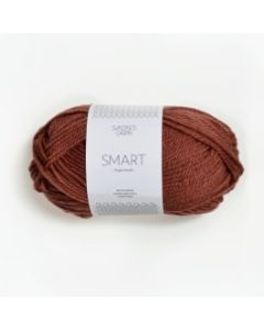 Sandnes Garn Smart Superwash (3544) Terracotta bij de Breiboerderij