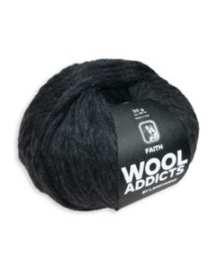 Wooladdicts Faith by Lang Yarns (70) Antraciet bij de Breiboerderij!