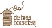 Bijtring Hout met tekst 'Lief' bij de Breiboerderij!